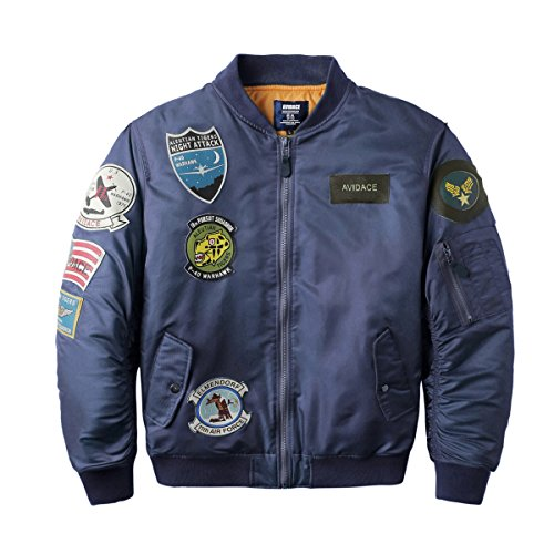 Neo wows Mens Bomber Jacket Patches product image