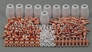 235pcs LG-40 PT-31 Air Plasma Cutting Cutter Consumables CUT-40 CUT-50D CT-312 by PT-31 consumables Standard by RIVERWELDstore
