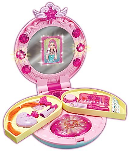 SECRET JOUJU Mini Vanity, Youngtoys, makeup, make-up, with mirror, princess play, cosmetic toy for children by Secret JOUJU