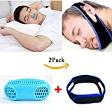 Anti Snoring Devices, 2-in-1 Anti Snore and Air Purifier, Snore Reducing Chin Strap, Snore Stopper Sleep Aids for Men Women