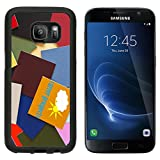 MSD Premium Samsung Galaxy S7 Aluminum Backplate Bumper Snap Case Career Prospects sign banner poster or sticker careers jobs employment prospect IMAGE 19830211