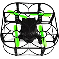 Owill Mini 2.4GHz RC Quadcopter FPV 6 Axis Gyro Air Press Altitude Hold/Automatic Display UAV (Black)