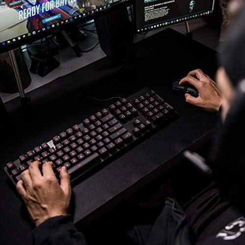 Logitech G - G413 - Teclado Mecánico con Iluminación para Gaming - Negro 4