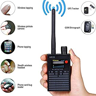 Anti-Spy Signal Detector GPS Signal Detector Spy Bug Camera Wireless Detector Spy Detector Device GPS RF Scanner Finder GSM Device Finder