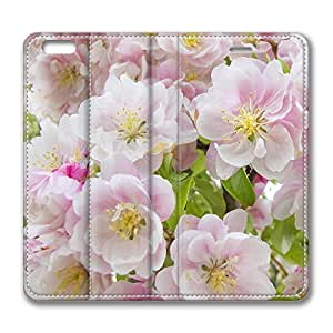 Brian114 5s Case, iPhone 5s Case - Best Protective Scratch-Proof Leather Cases for iPhone 5s Apple Flower Blossoms Customized Design Folio Flip Leather Case Cover for iPhone 5s Inch