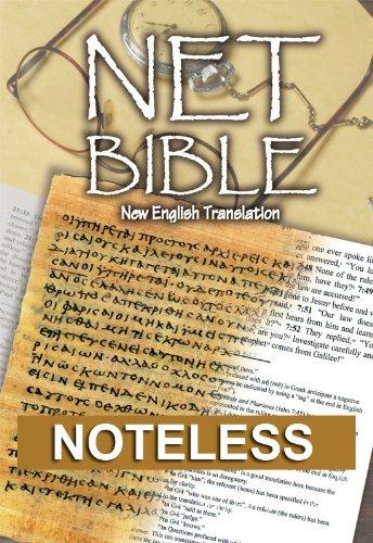 NET Bible Noteless