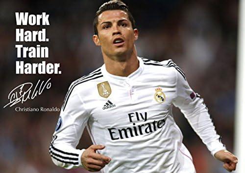 Cristiano Ronaldo #41 - - de motivación con imagen firmada por ...