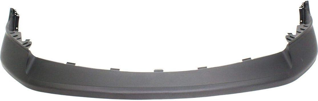 Front Bumper Cover For 2013-2017 Ram 1500 1-Piece Bumper Type Primed Plastic