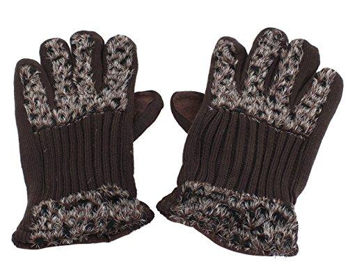 インチ甘味測定可能uxcell 手袋 グローブ ウォーマー フルフィンガー レディース 防寒 ペア