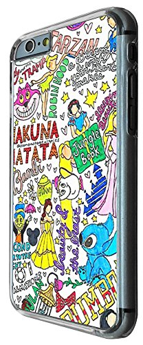 353 - Multi Art Stickerbomb Quote Beauty and the beast Design iphone 6 PLUS / iphone 6 PLUS S 5.5'' Coque Fashion Trend Case Coque Protection Cover plastique et métal