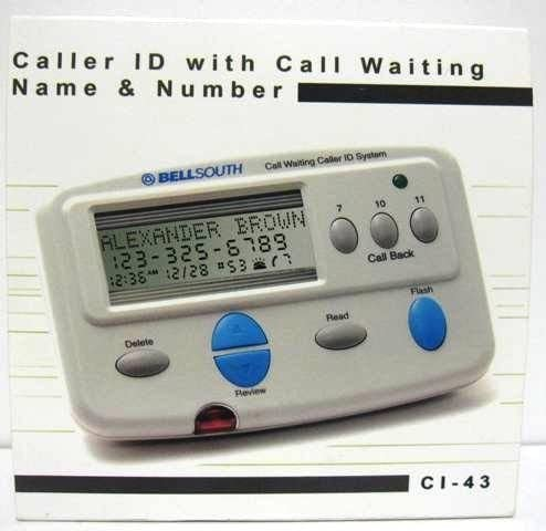 NEW BELLSOUTH CI 43 CALLER ID CALL WAITING VOICE MAIL /& MORE FUNCTIONS CI-7112