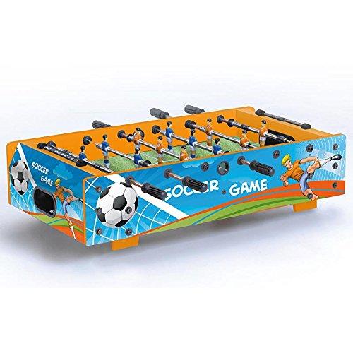 Garlando Table Football Table F-Mini with Push-Through Poles Blue
