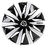Sparco SPC1491BKSV Wheel Covers Lazio 14-inch Black/Silver