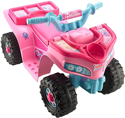 Power Wheels Barbie Lil' Quad Vehicle Ride On