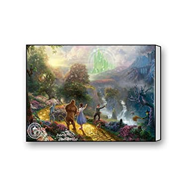 Thomas Kinkade Wizard Of Oz Painting Custom Gallery Warp Art Canvas Print 16 x 12 Inch