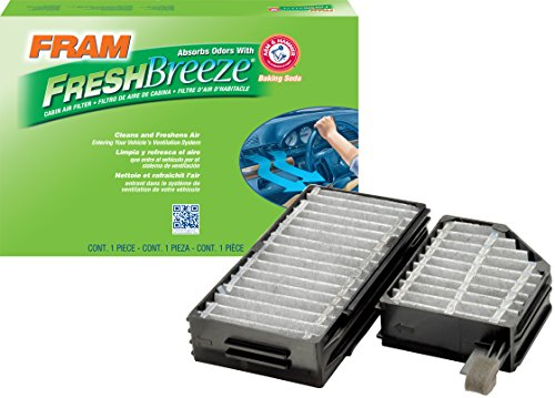 FRAM CF10383 Fresh Breeze Cabin Air Filter with Arm & Hammer