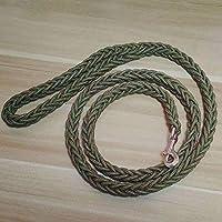 SRI Climbing Rope Nylon Braided Heavy Duty Dog Training Leash for Large and Medium Dogs