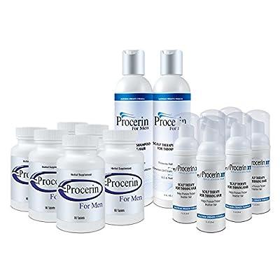 Procerin 6 Month Combo: Tablets/XT Foam PLUS 2 Procerin Shampoo