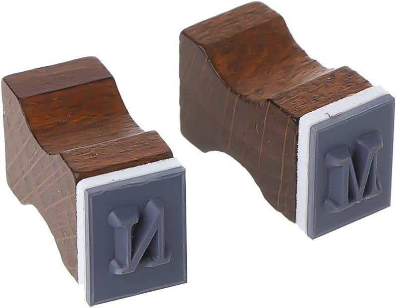 Lyguy Rubber Stamp 30 Pieces Retro Alphabet Letter Uppercase Lowercase Wooden Rubber Stamp Set Craft