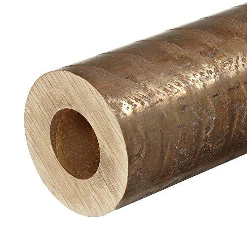 Online Metal Supply C955 Aluminum Bronze Hollow Bar / Tube 3'' OD, 1.5'' ID, .750'' Wall x 12'' Long by Online Metal Supply