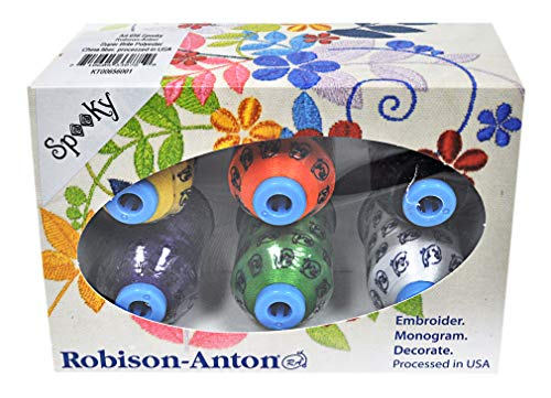 Robison-Anton Polyester Mini King 6 Spool Gift Pack - Spooky