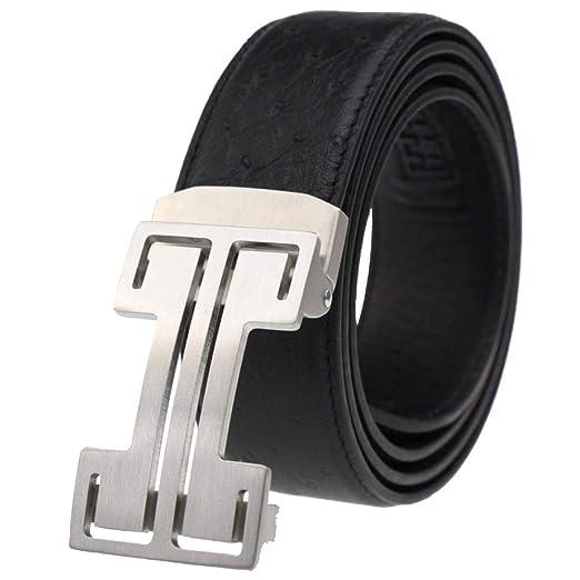 Mysterious Direct Cinturones Retro Casual Traje Hombre Cuero ...