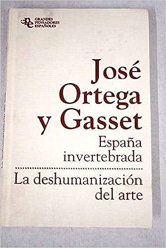 La deshumanización del arte: Amazon.es: Julián Marías: Libros