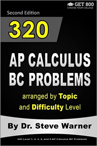 Electronic Ebook Pdf Download 320 Ap Calculus Bc Problems