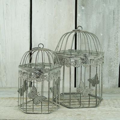 Boda jaula de pájaro mesa Centrepiece Shabby Chic francés Vintage ...