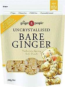 THE GINGER PEOPLE Uncrystallised Bare Ginger, 200g