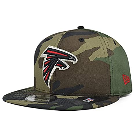 Image Unavailable. Image not available for. Color  Atlanta Falcons New Era  NFL Woodland Camo 9Fifty ... 77c06fd4c