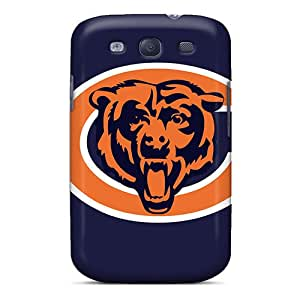 Durable Hard Cell-phone Cases For Samsung Galaxy S3 (llx11917SkUP) Customized Colorful Chicago Bears Pattern
