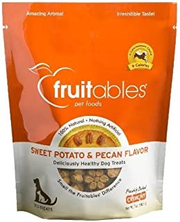 product image for FRUITABLES, DOG TRTS,CRNCH,SW POT/PCN 7 OZ EA 1