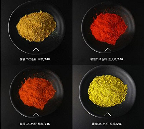 28 Assorted Sample Set Cosmetic Grade Matte Mineral Makeup Pigments Powder 0.5~2 Gram Each For Cosmetic,Lipstick ,Soap Making,Candle Making, Nail Art, Resin Jewelry, Acrylic and other Craft Projects