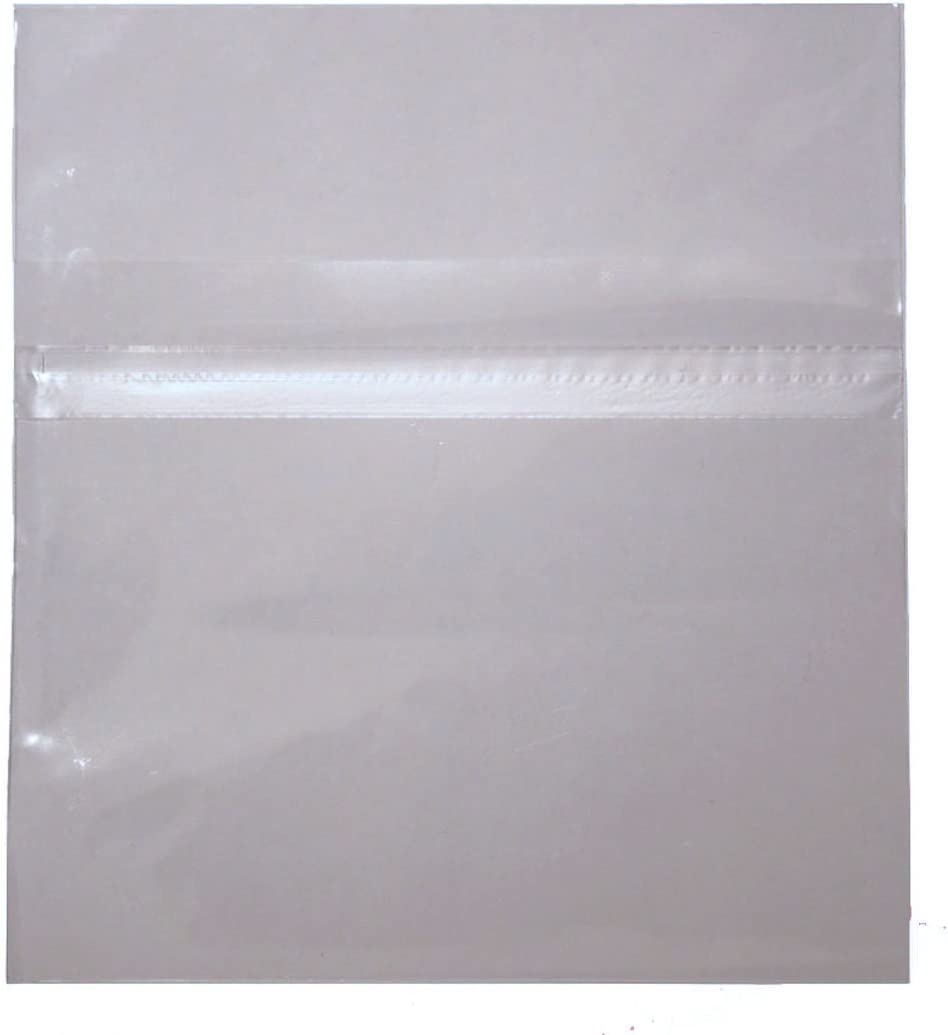 NEW 1000 OPP Resealable Plastic Wrap Bags for Standard 10.4mm CD Jewel Case