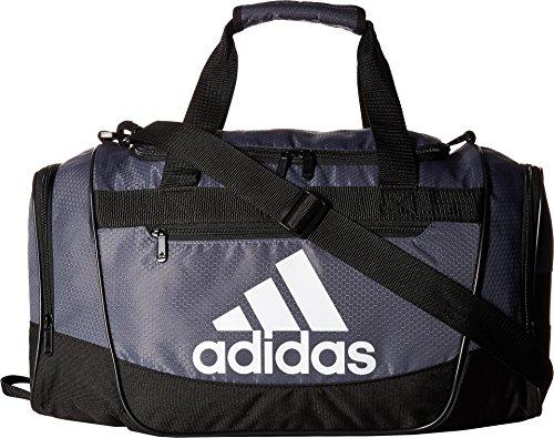 adidas Women's Defender III small duffel Bag, Onix/Black/White, One Size