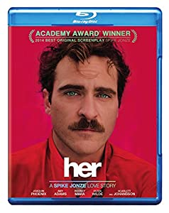 Cover Image for 'Her (Blu-ray + DVD + UltraViolet Combo Pack)'
