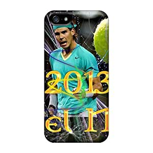 Tough Iphone OTO22183NlYL Cases Covers/ Cases For Iphone 5/5s(rafael Nadal)
