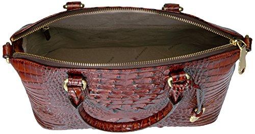 Top Duxbury Brahmin Pecan Handle Convertible Satchel Bag tptw8B