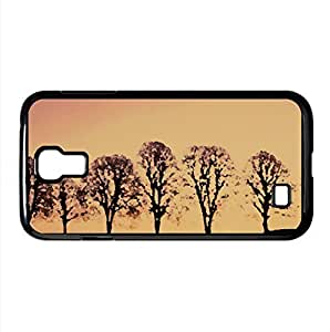 Beech Trees At Sunrise Watercolor style Cover Samsung Galaxy S4 I9500 Case (Sun & Sky Watercolor style Cover Samsung Galaxy S4 I9500 Case) by icecream design