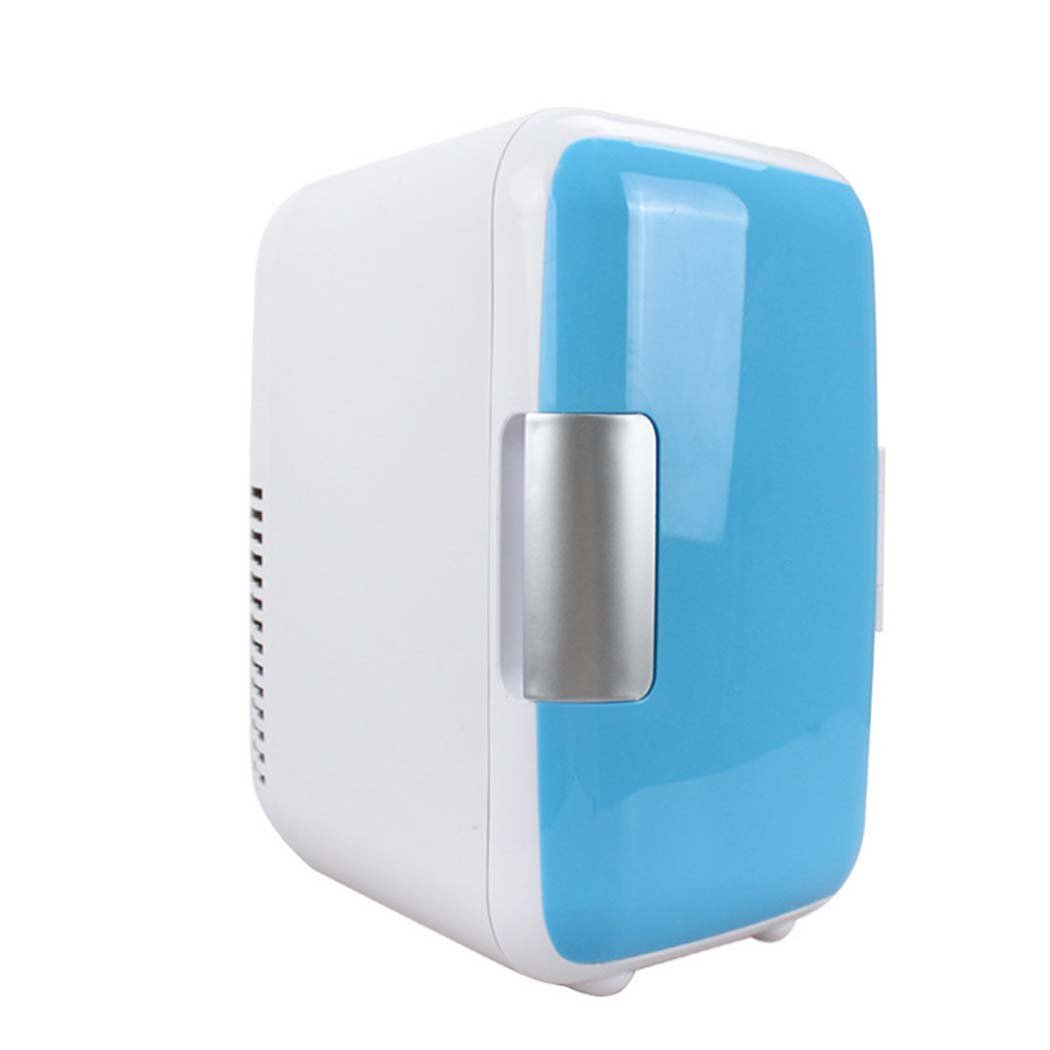 DSHBB Car Fridge Mini,Cooler And Warmer ,Travel, Picnic, Camping Outdoor Use (Color : Blue)