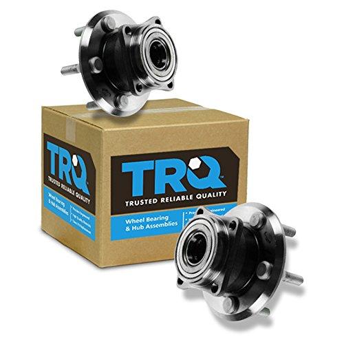 TRQ Wheel Bearing & Hub Assembly Rear Left Right PAIR for Vibe Matrix AWD ()