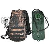 Military Green Overland Color Hydration Pack Backpack 2.5 Liter (84oz) Bladder, Outdoor Stuffs
