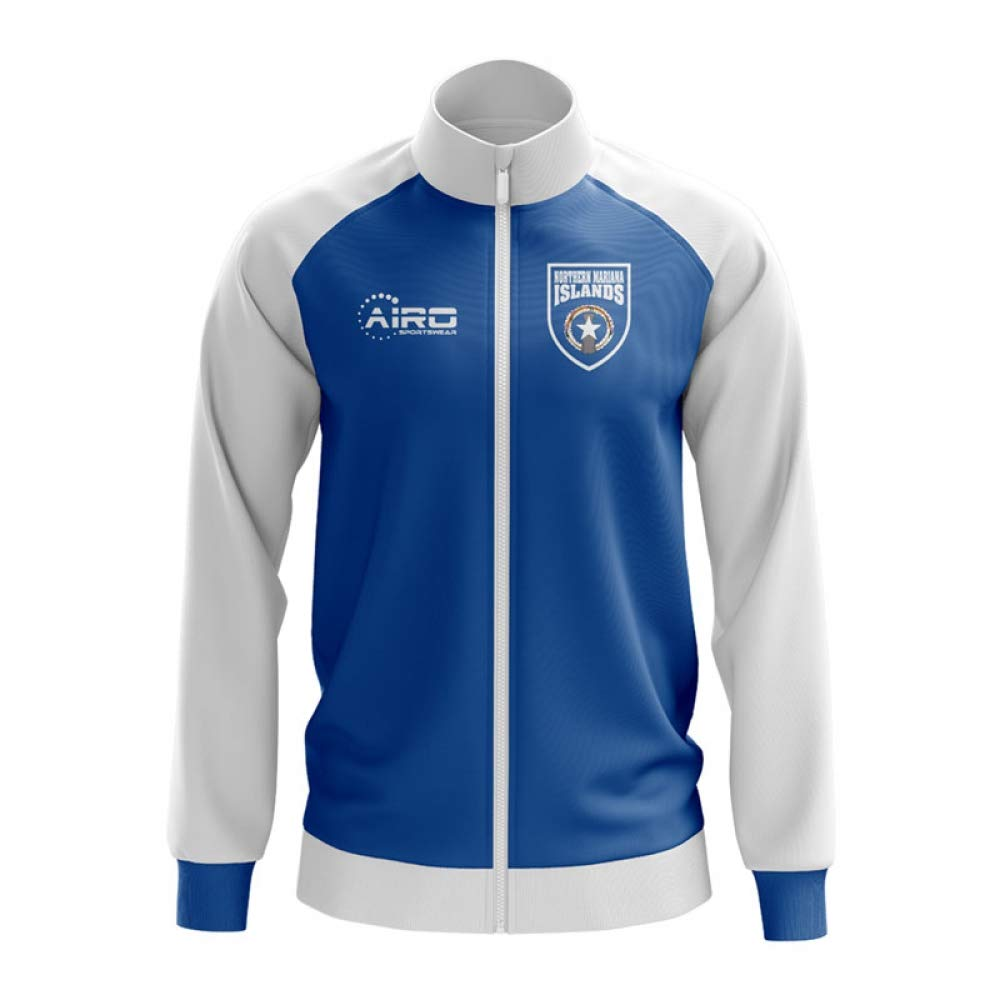 Airo Sportswear Northern Mariana Concept Football Track Jacket (Blau)