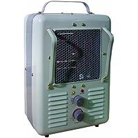 TPI Corporation 188TASA Fan Forced Portable Heater – Milk House Style Fan, 1500/1300W, 120V, Durable Winter Care Accessory. Genuine Heating Equipment