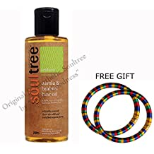 Soultree Aamla & Brahmi Hair Oil 200ml - With FREE GIFT (Pair of Multicolor Bangles) and FREE SHIPPING by Soultree