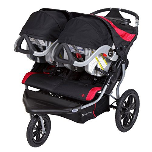 Baby Trend Navigator Lite Double Jogger Stroller, Candy ...