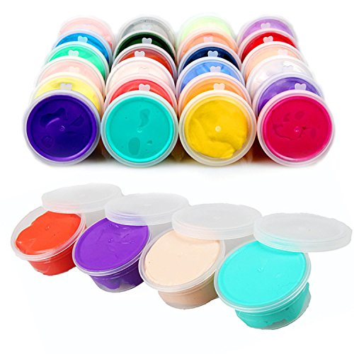 Mega Shop Slime Storage Containers Putty 20 Pcs Dia 5Cm x 3.2 Cm For Container Cheap Box with Lids with Good Sealability Ingredients Organizer Case Supplies for $<!--$15.30-->