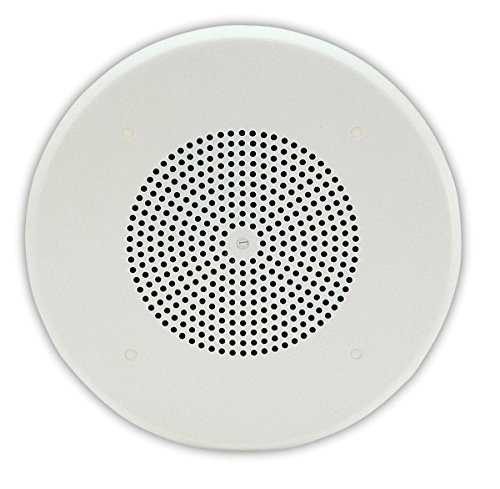 Valcome VC-V-1020C 1Watt 1Way 8'' Ceiling Speaker 3 pack by Valcom