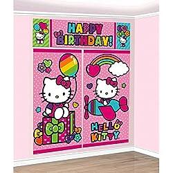 Scene Setters Wall Decorating Kit | Hello Kitty Rainbow Collection | Birthday